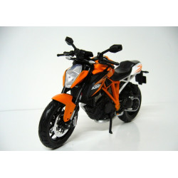 Welly - Motocykl KTM 1290 Super Duke R model 1-10 oranžový